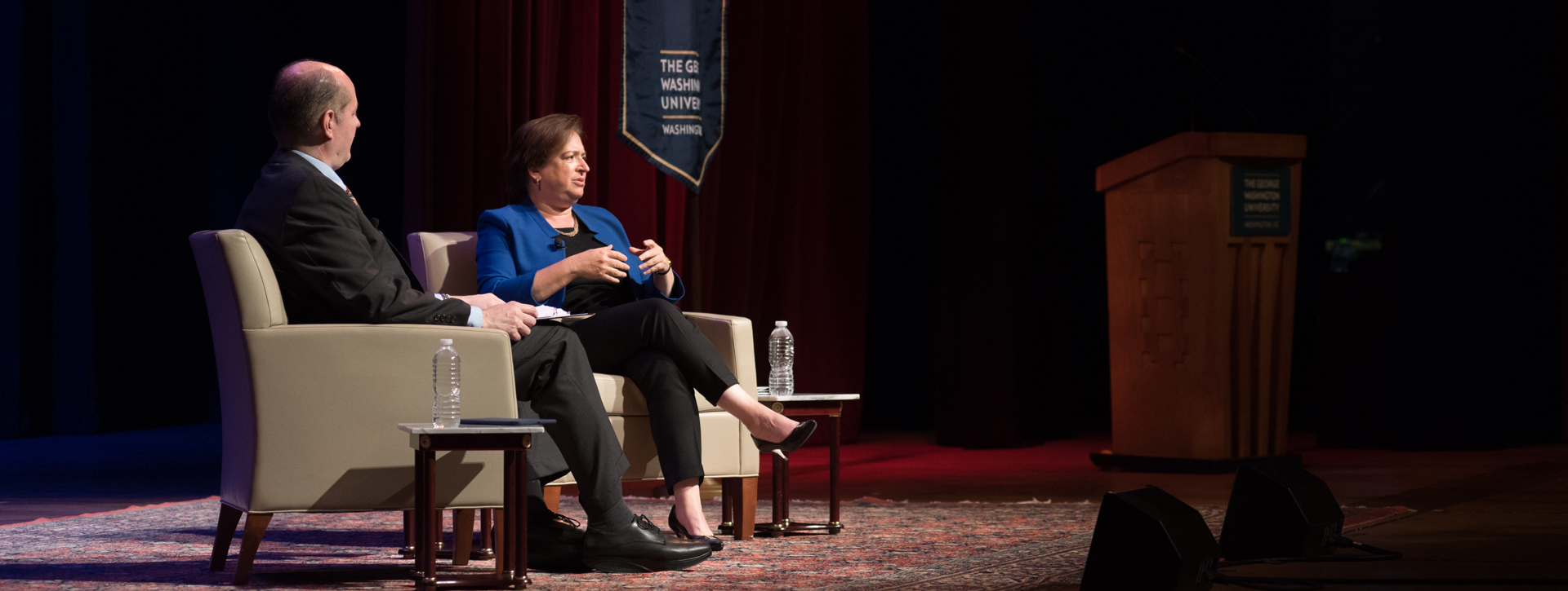 Supreme Court Justice Elena Kagan Visiting GW Law