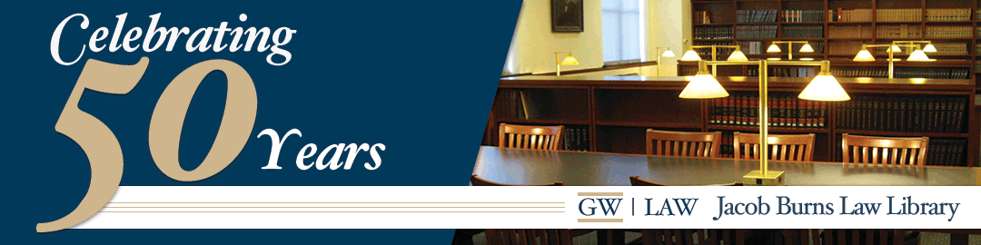 GW Law Library Celebrates 50th Anniversary