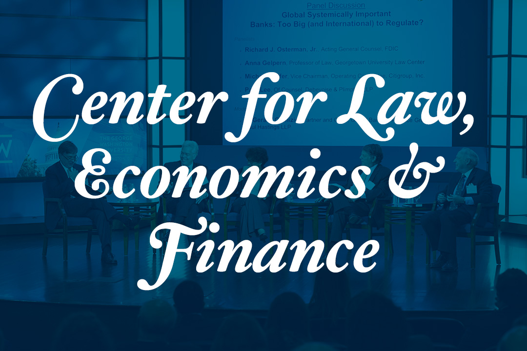Center for Law, Economics & Finance