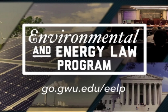 Environmental & Energy Law at GW Law