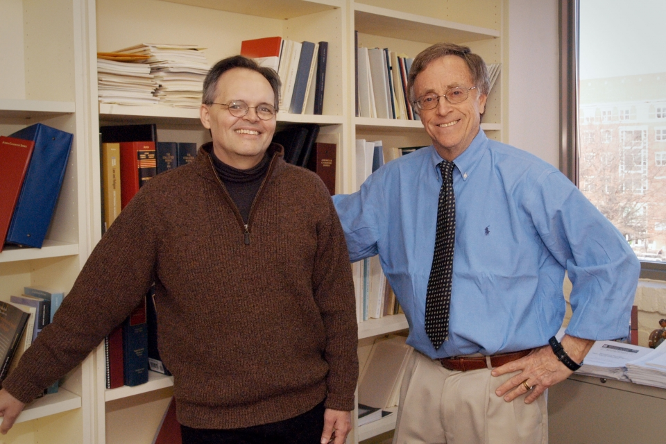 Photo of Bob Tuttle and Chip Lupu