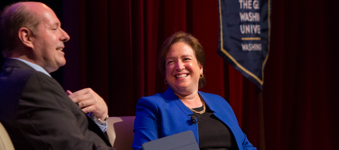 Justice Elena Kagan and Professor Bradford Clark