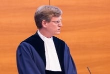 Professor Sean D. Murphy speaking at the International Tribunal for the Law of the Sea.