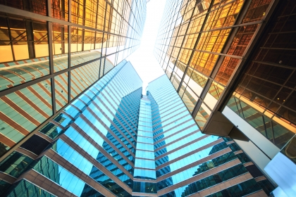 Picture of tall buildings
