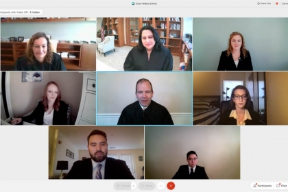 WebEx Call with participants
