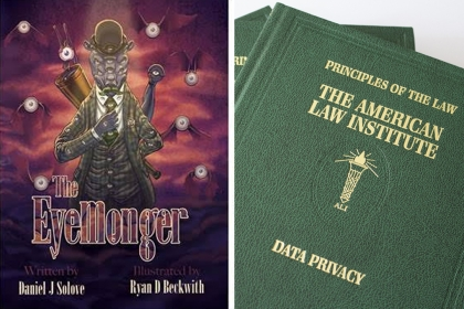 The Eyemonger Book and the Principles of the Law, Data Privacy book