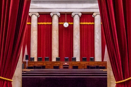 Benhc of the Supreme Court of the United States