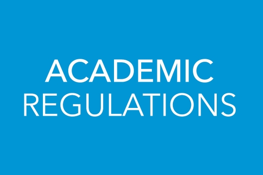 Academic Regulations