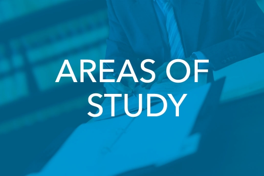 Areas of Study