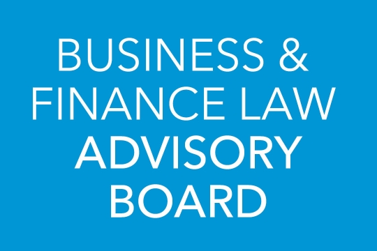 Business and Finance Law Advisory Board
