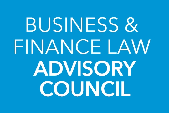 Business and Finance Law Advisory Council