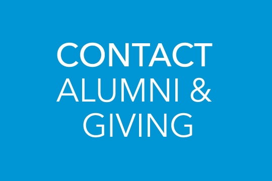 Contact Alumni & Giving