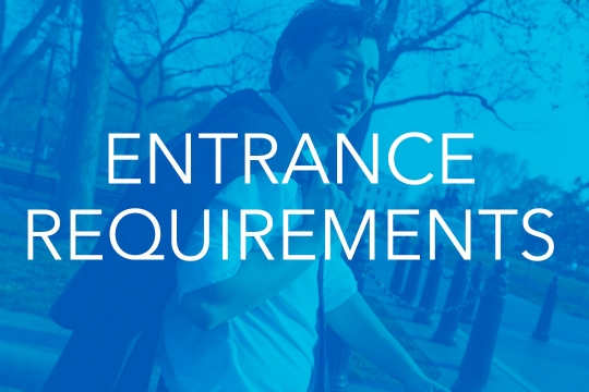 Entrance-Requirements
