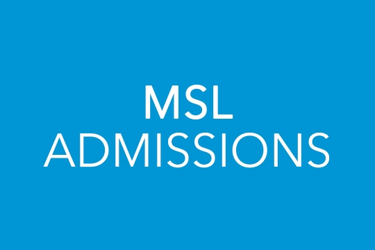 MSL Admissions