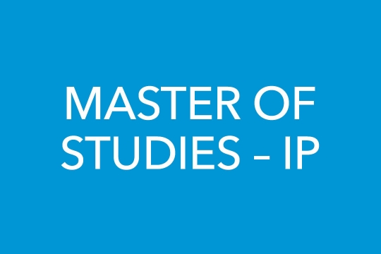 Master of Studies – IP