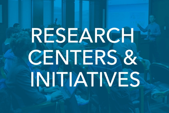 Research Centers & Initiatives