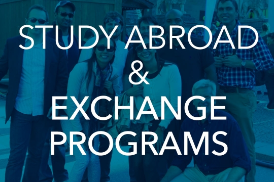 Study Abroad & Exchange Programs