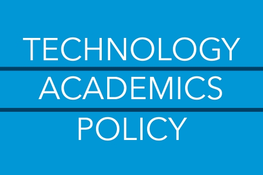 Technology Academics Policy
