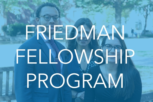 Friedman Fellowship Program