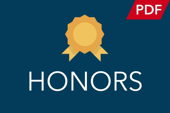 Commencement Honors